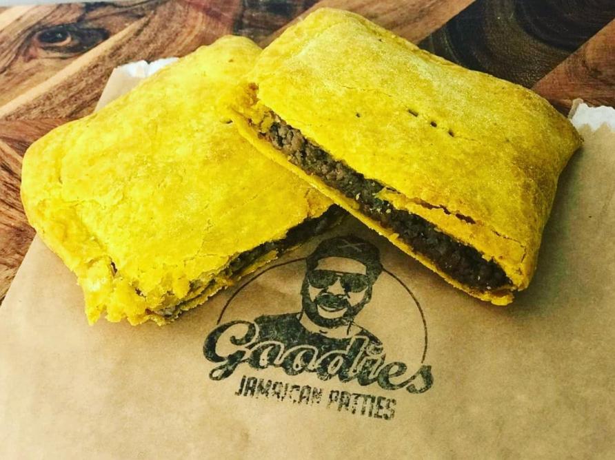 Goodies Jamaican Patties Branding